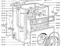 waschmaschine bauknecht wa530 ws typ d230 reparatur. Black Bedroom Furniture Sets. Home Design Ideas