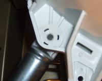 waschmaschine bosch wfl288y sto d mpfer ausbauen reparatur. Black Bedroom Furniture Sets. Home Design Ideas