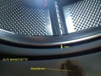 waschmaschine bauknecht wa 2587 ws neue manschette passt nicht reparatur. Black Bedroom Furniture Sets. Home Design Ideas