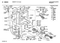 Bosch Geschirrspuler Ersatzteile Explosionszeichnung